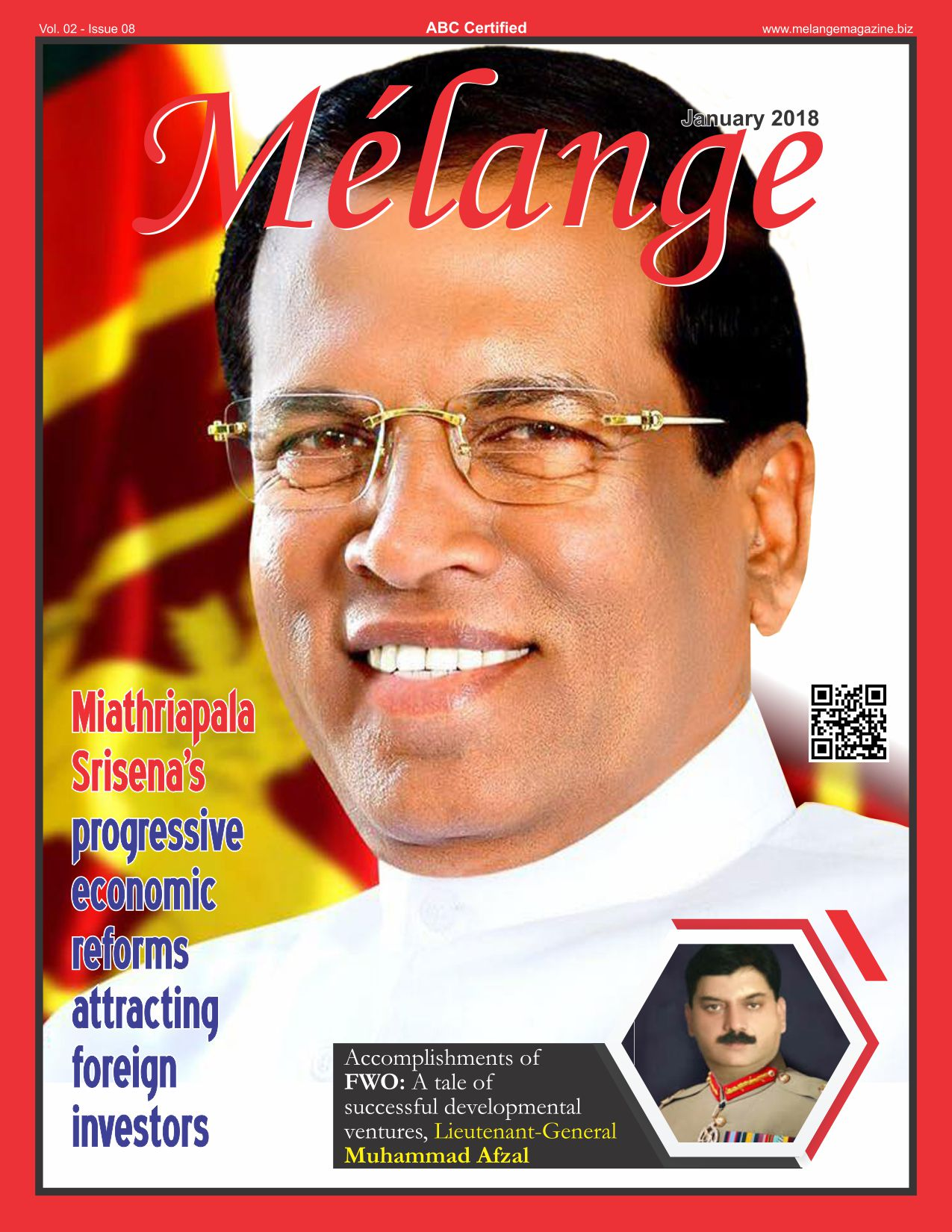 Melange Magazine January 2018