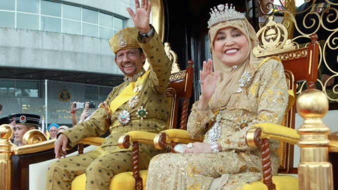 The concealed Ecstasy… Sultan of Brunei Hassanal Bolkiah & Queen Saleha