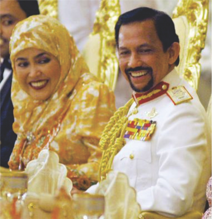 The concealed Ecstasy… Sultan of Brunei Hassanal Bolkiah